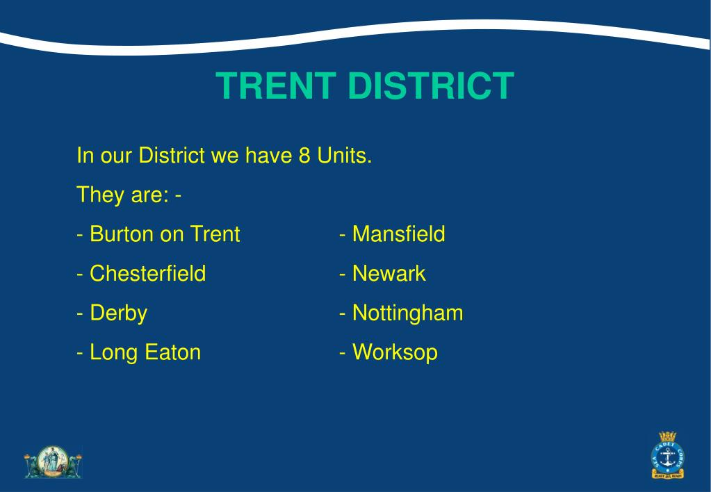 TRENT DISTRICT