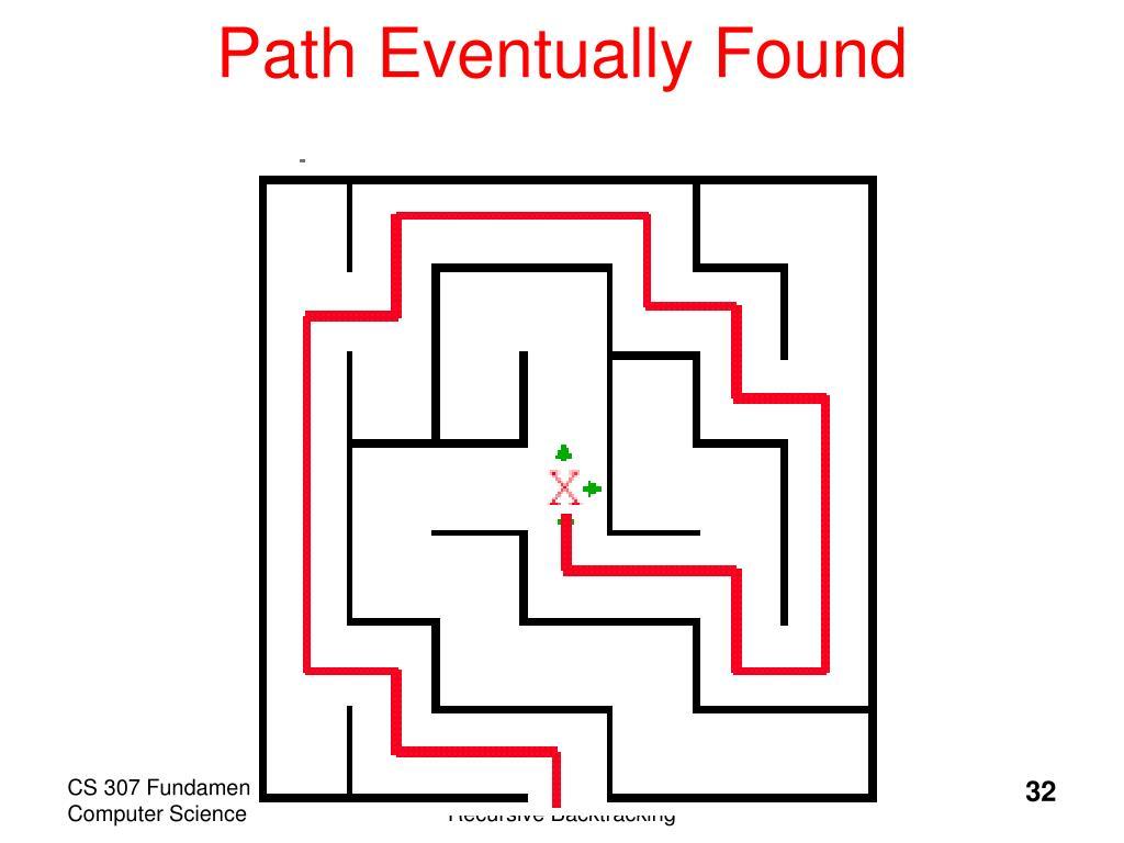 Path Eventually Found