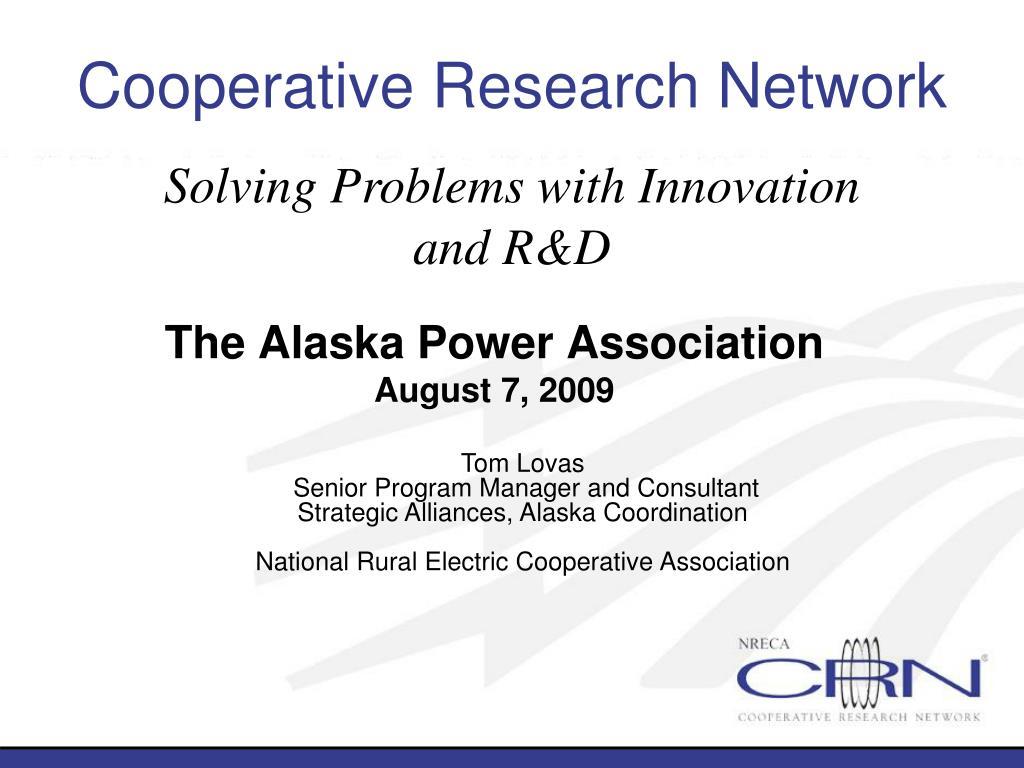 the alaska power association august 7 2009