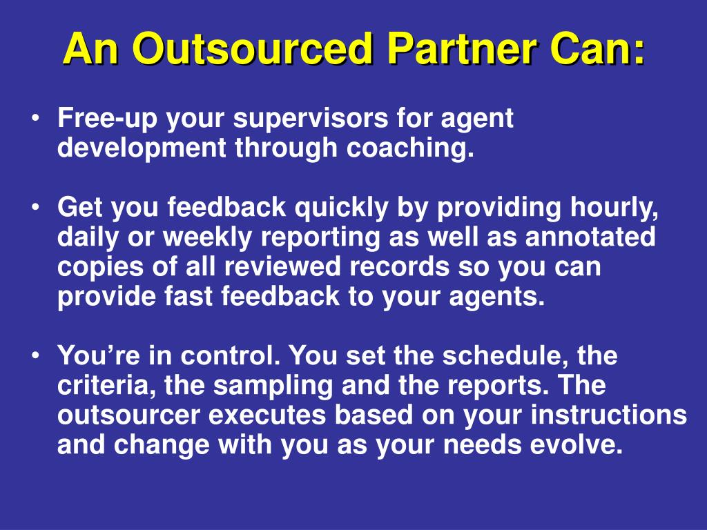 Free-up your supervisors for agent development through coaching.