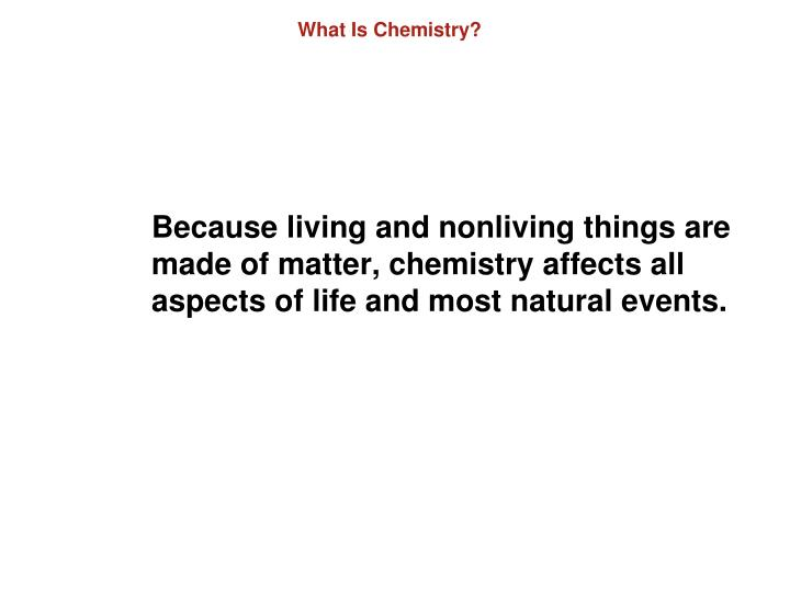 What is chemistry2