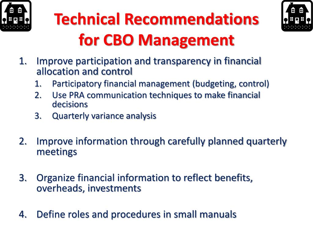 Technical Recommendations
