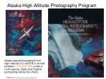 alaska high altitude photography program