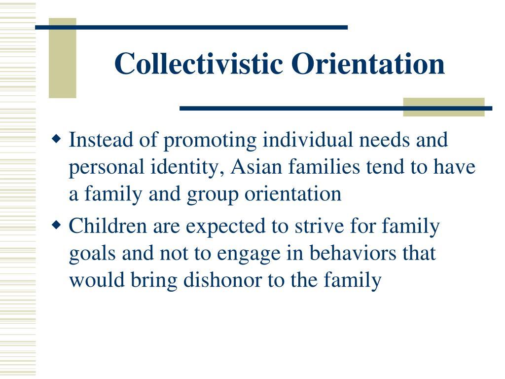 Collectivistic Orientation
