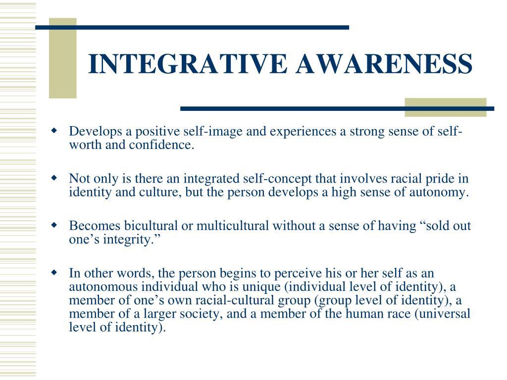 INTEGRATIVE AWARENESS