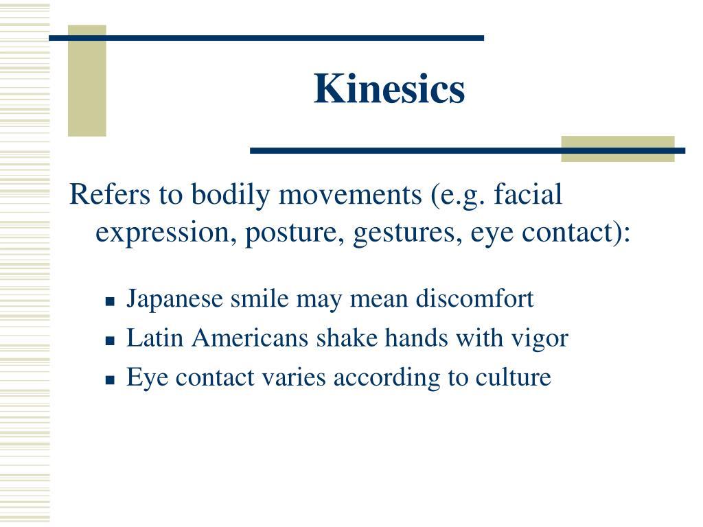 Kinesics