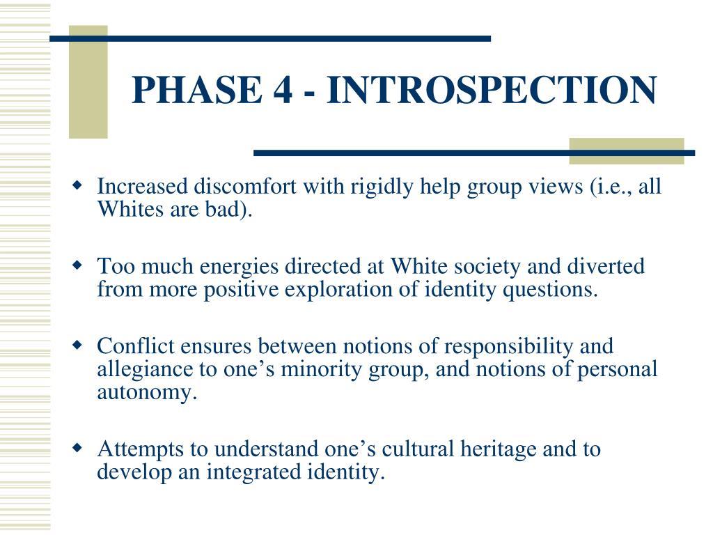 PHASE 4 - INTROSPECTION