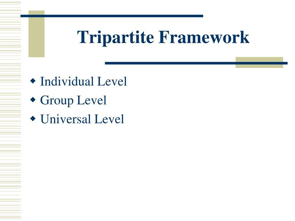 Tripartite Framework