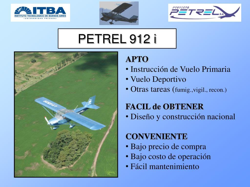 PETREL 912 i