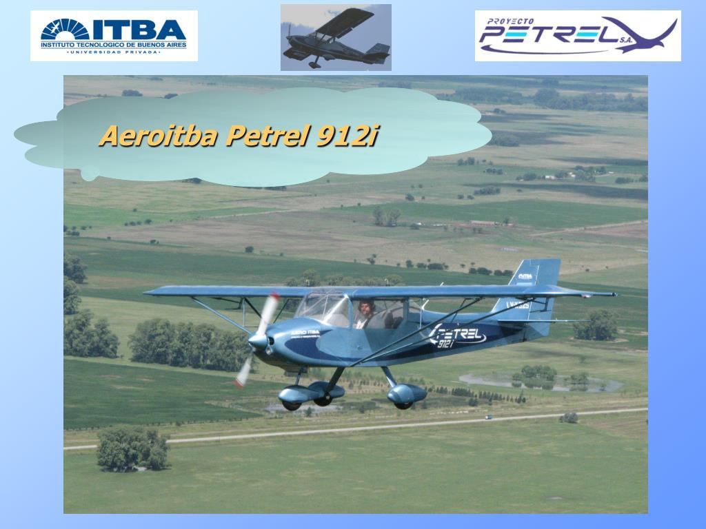 Aeroitba Petrel 912i