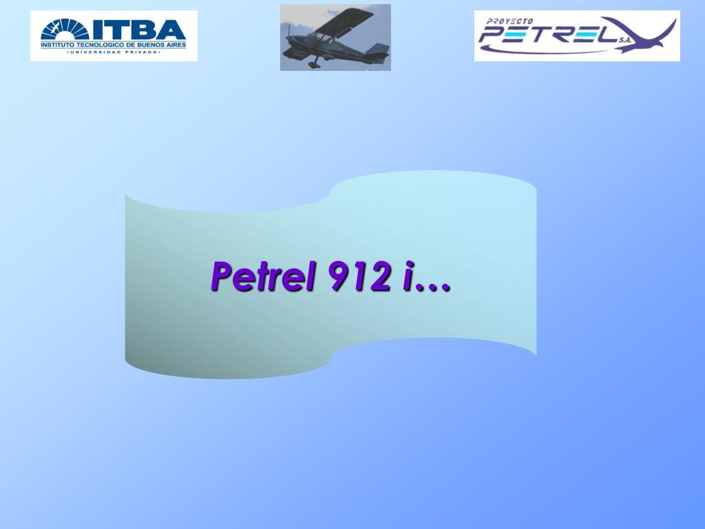 Petrel 912 i…