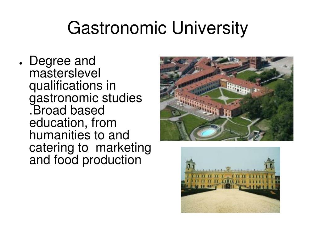 Gastronomic University