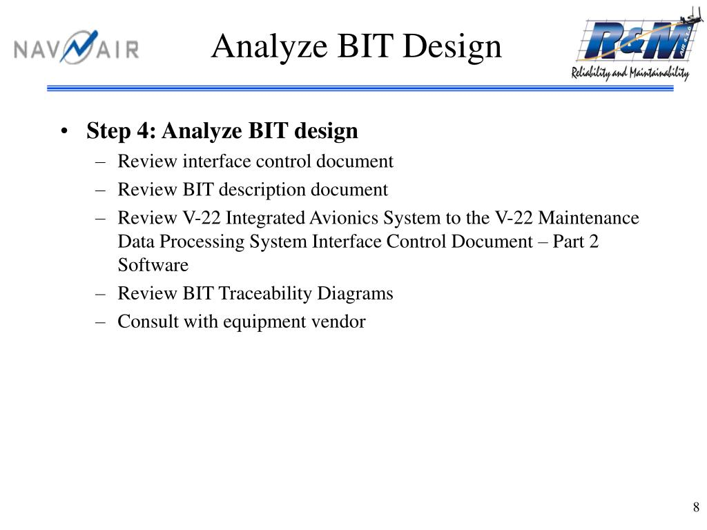 Analyze BIT Design