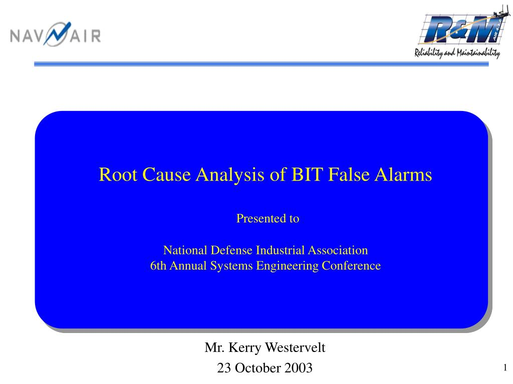 Root Cause Analysis of BIT False Alarms