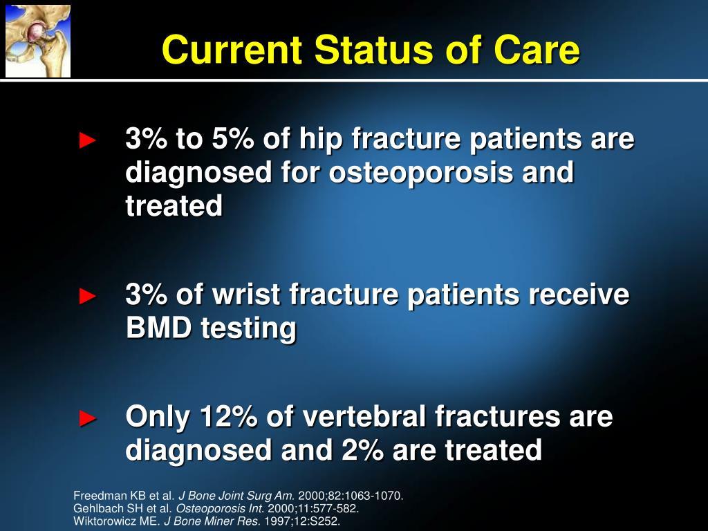 Current Status of Care