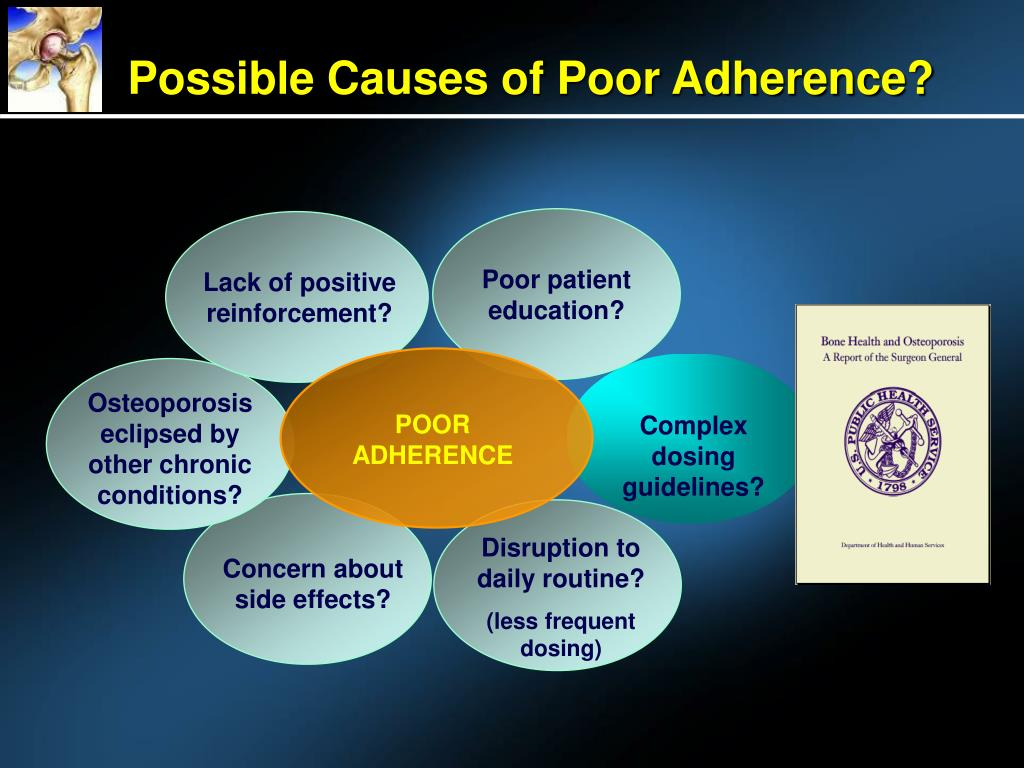 Possible Causes of Poor Adherence?