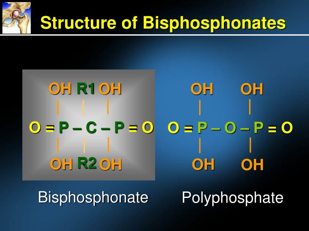 Structure of Bisphosphonates