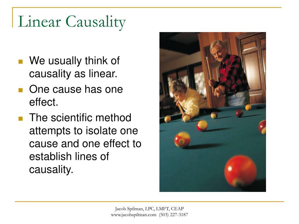 Linear Causality