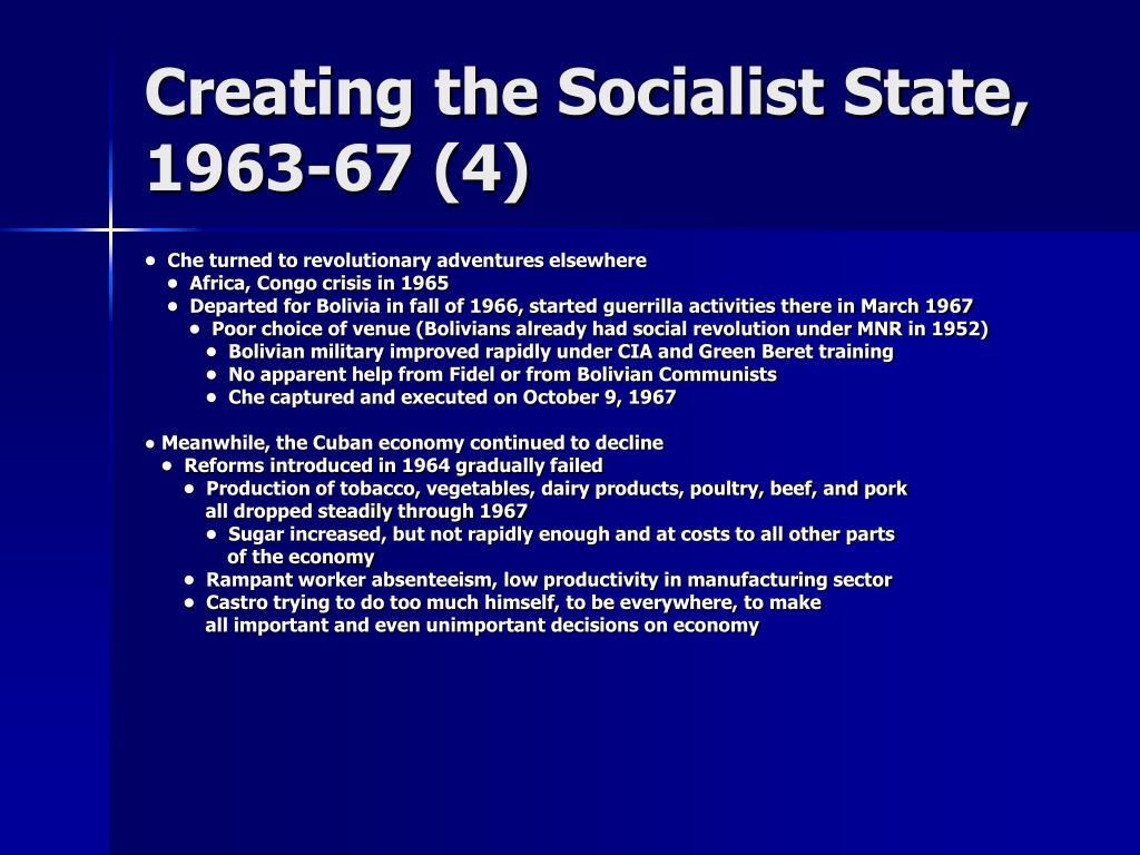 Creating the Socialist State,