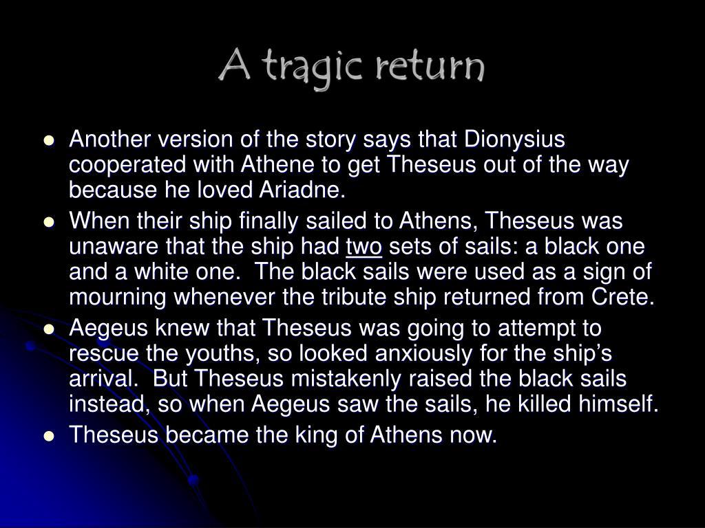 A tragic return