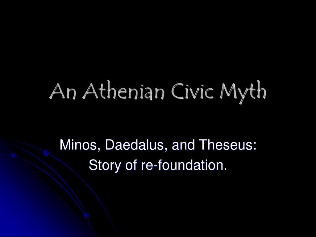 An Athenian Civic Myth