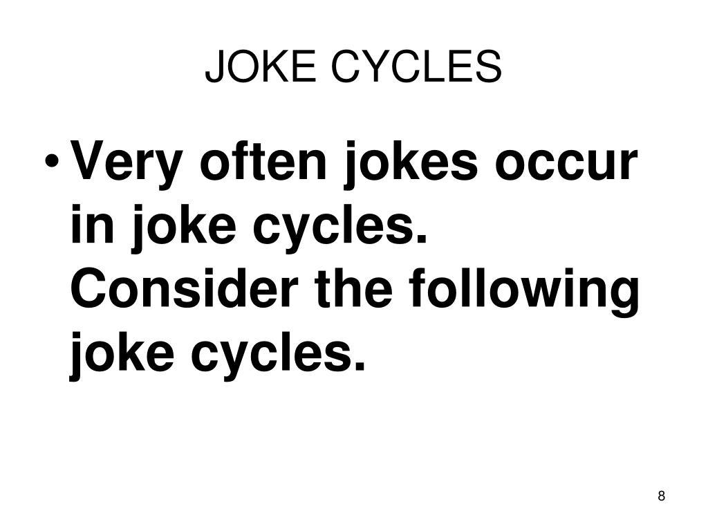 JOKE CYCLES