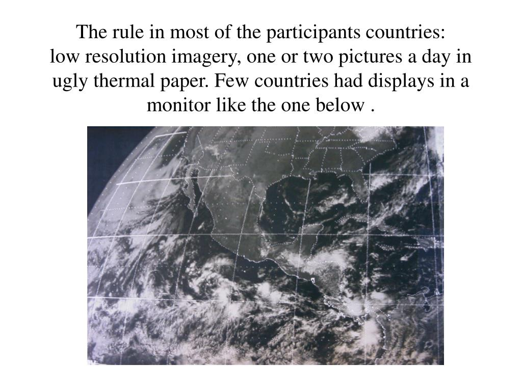 The rule in most of the participants countries: