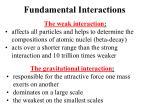 fundamental interactions6