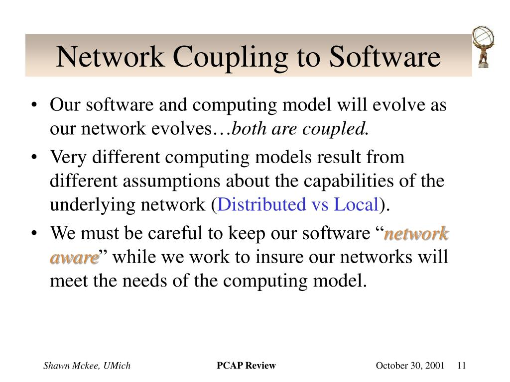 Network Coupling to Software