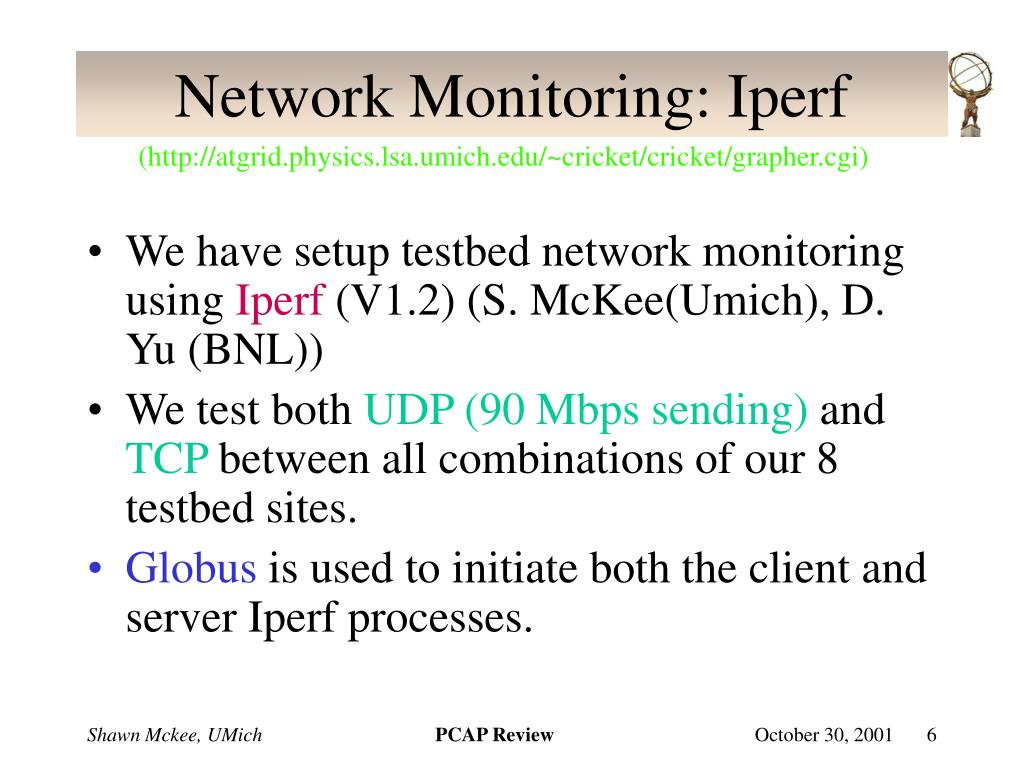 Network Monitoring: Iperf