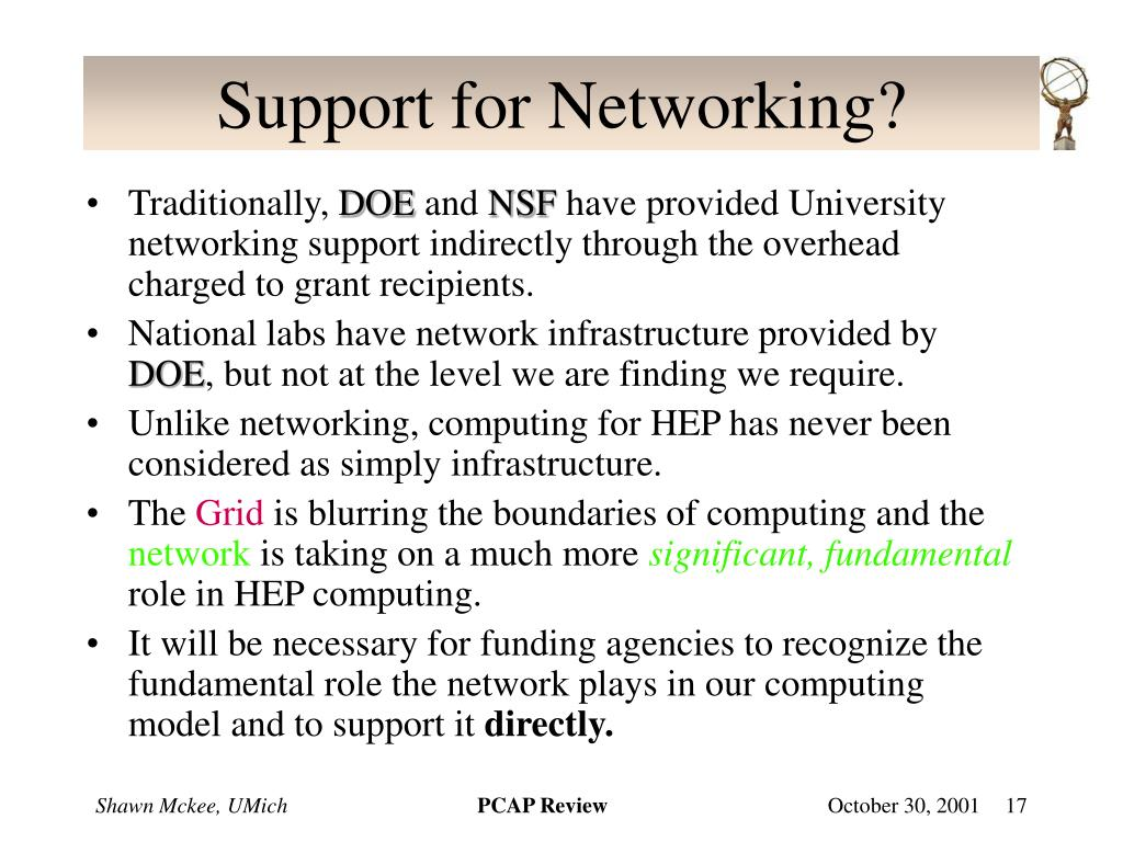 Support for Networking?