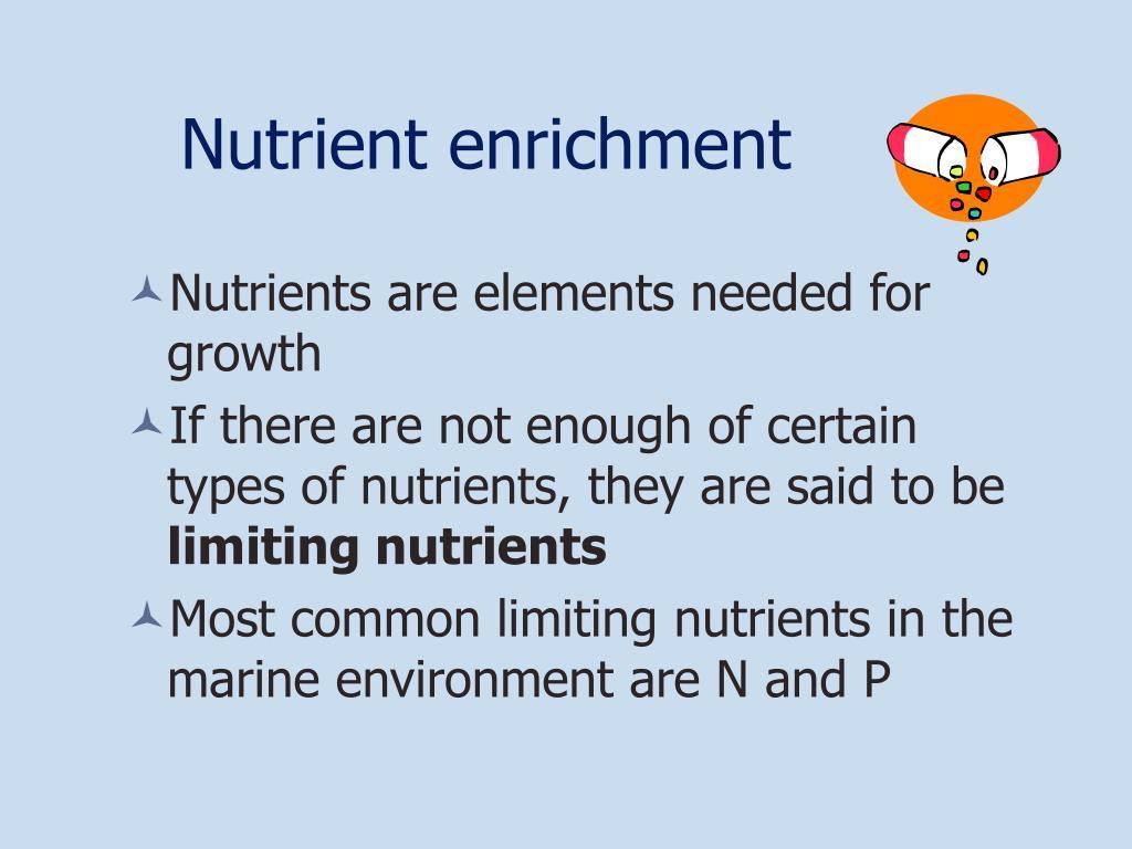 Nutrient enrichment