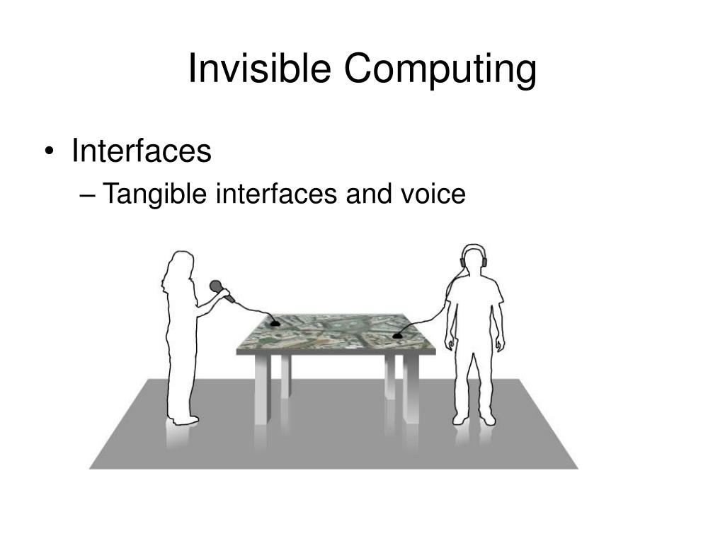 Invisible Computing