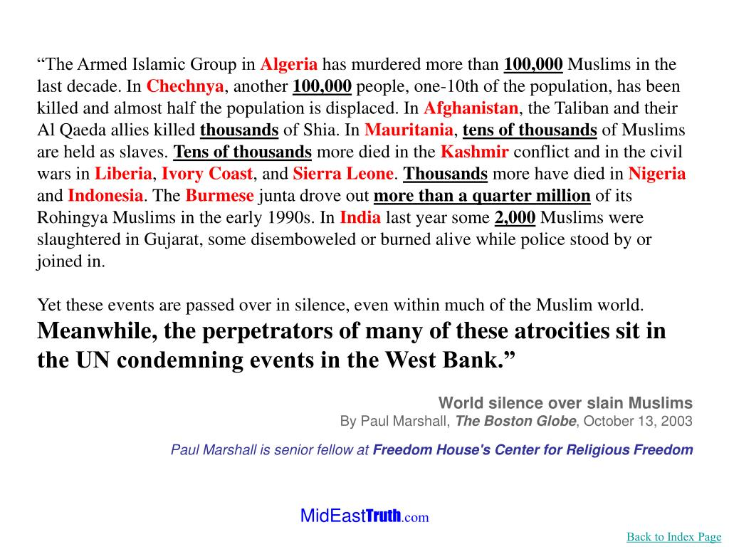 """""""The Armed Islamic Group in"""