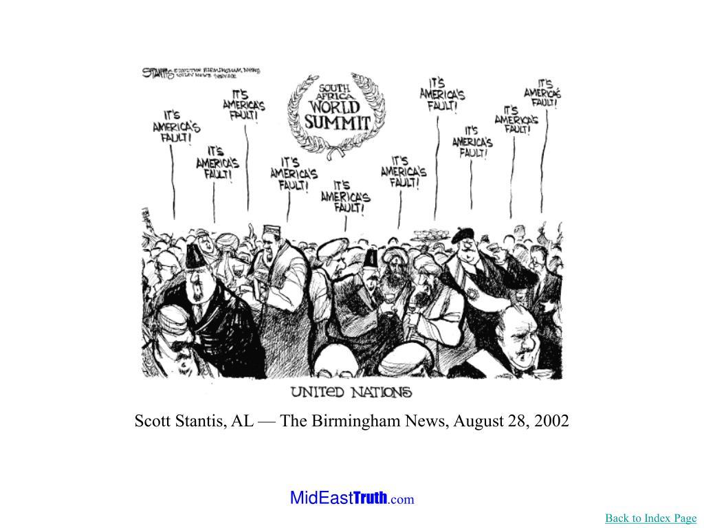 Scott Stantis, AL — The Birmingham News, August 28, 2002