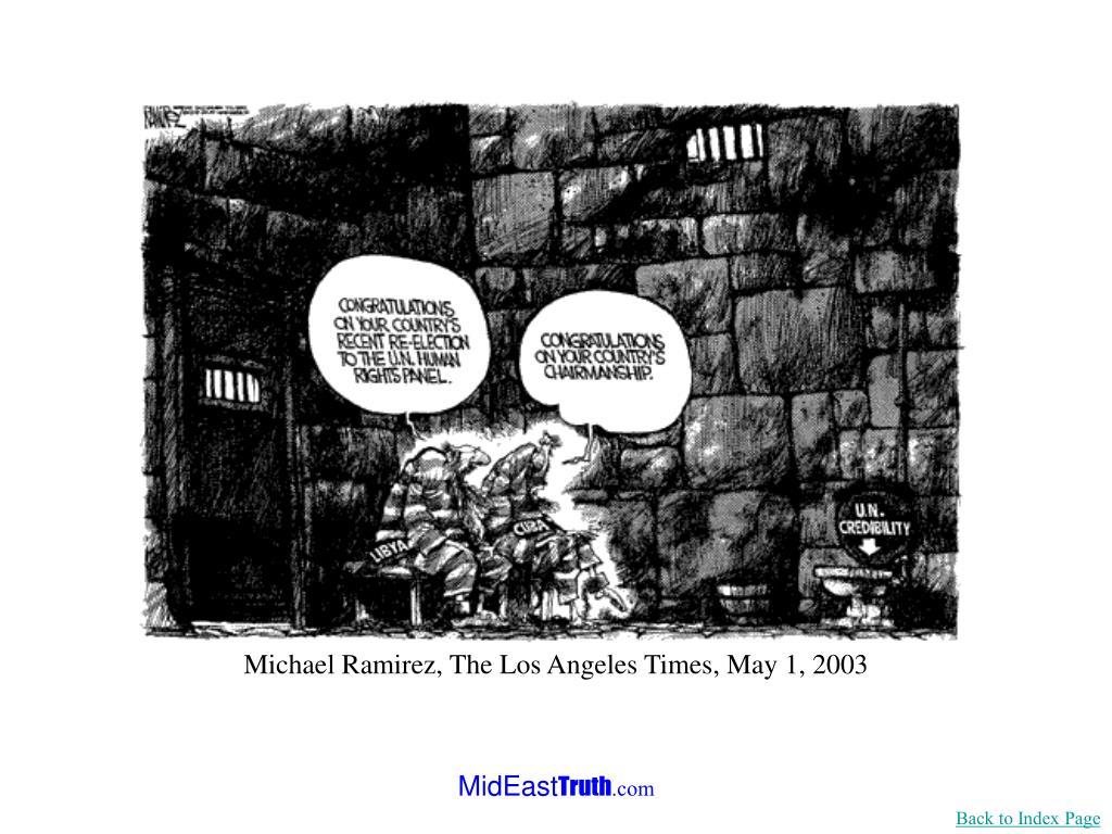 Michael Ramirez, The Los Angeles Times