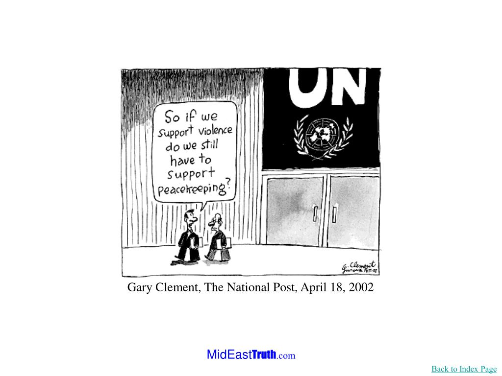 Gary Clement, The National Post, April 18, 2002