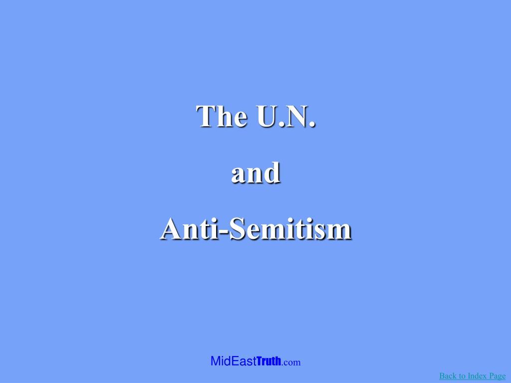 The U.N.
