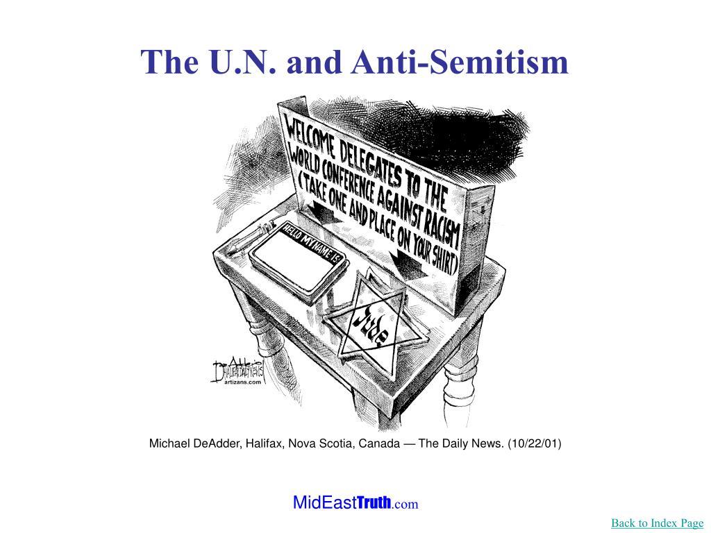Michael DeAdder, Halifax, Nova Scotia, Canada — The Daily News. (10/22/01)