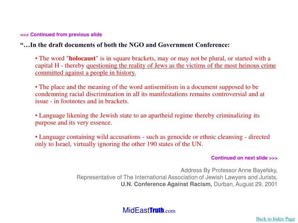 <<< Continued from previous slide