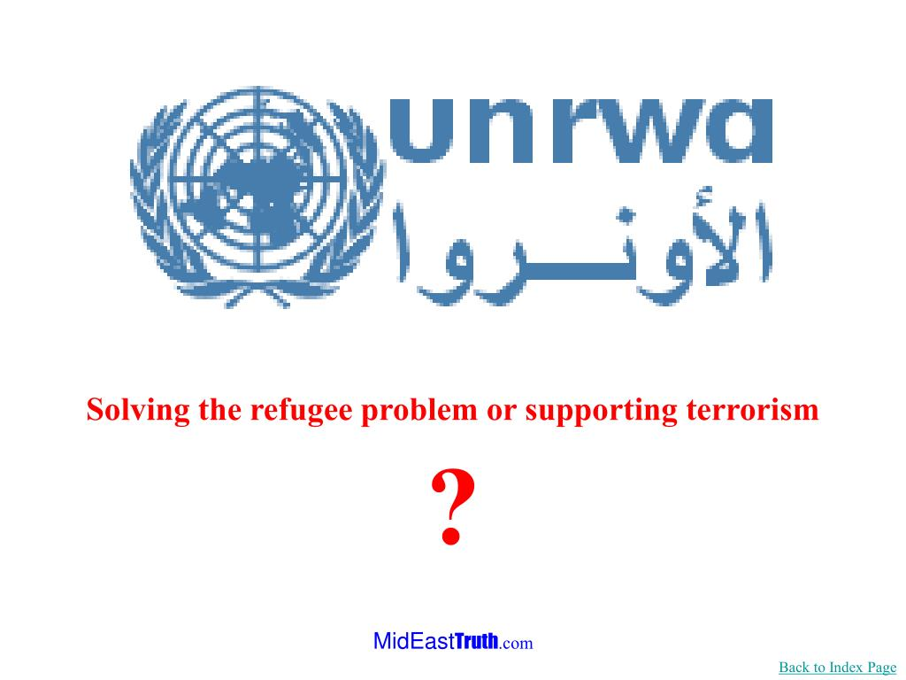 Solving the refugee problem or supporting terrorism