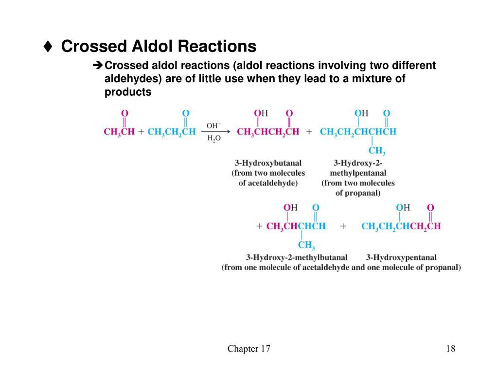 Crossed Aldol Reactions