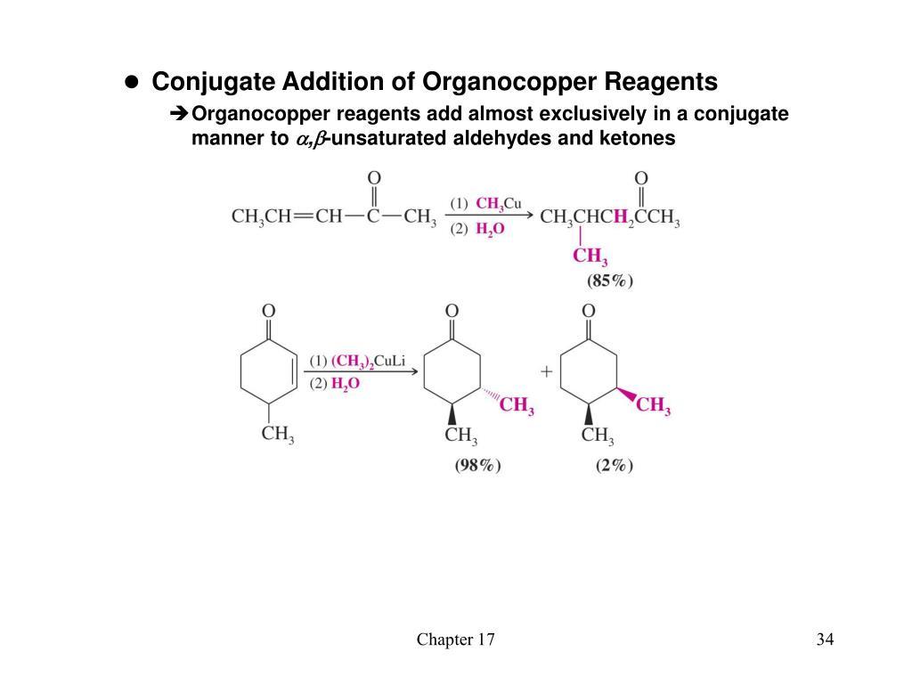 Conjugate Addition of Organocopper Reagents