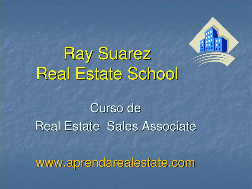 ray suarez real estate school