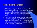 the national ensign22
