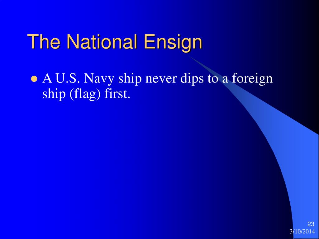The National Ensign