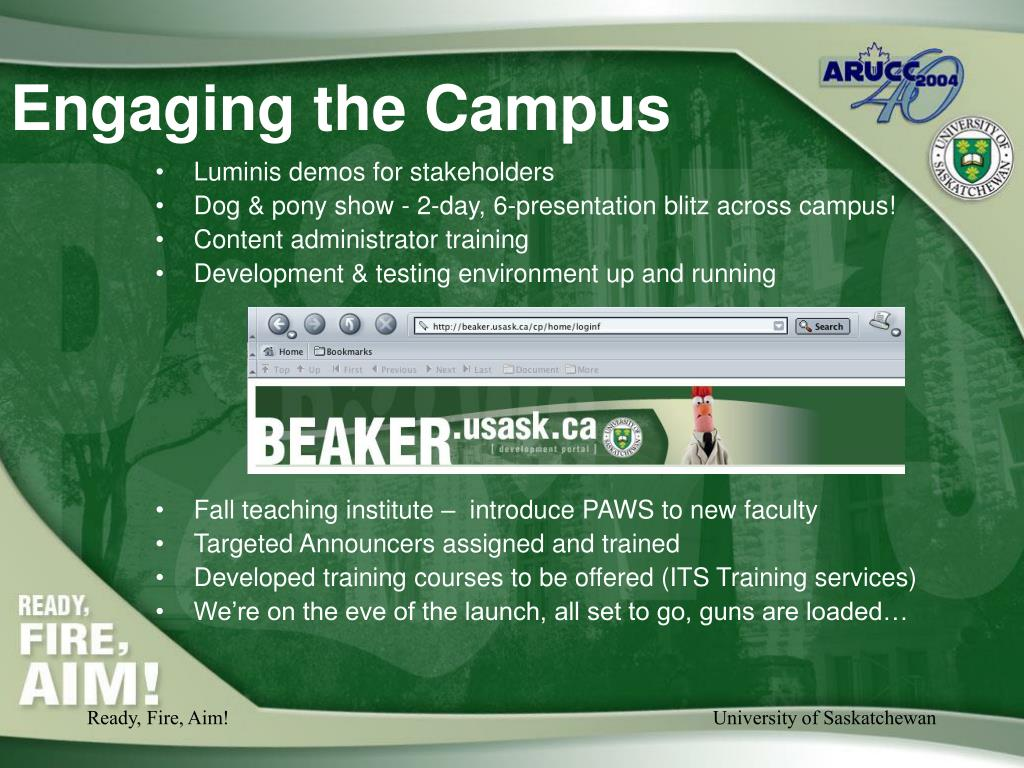 Engaging the Campus