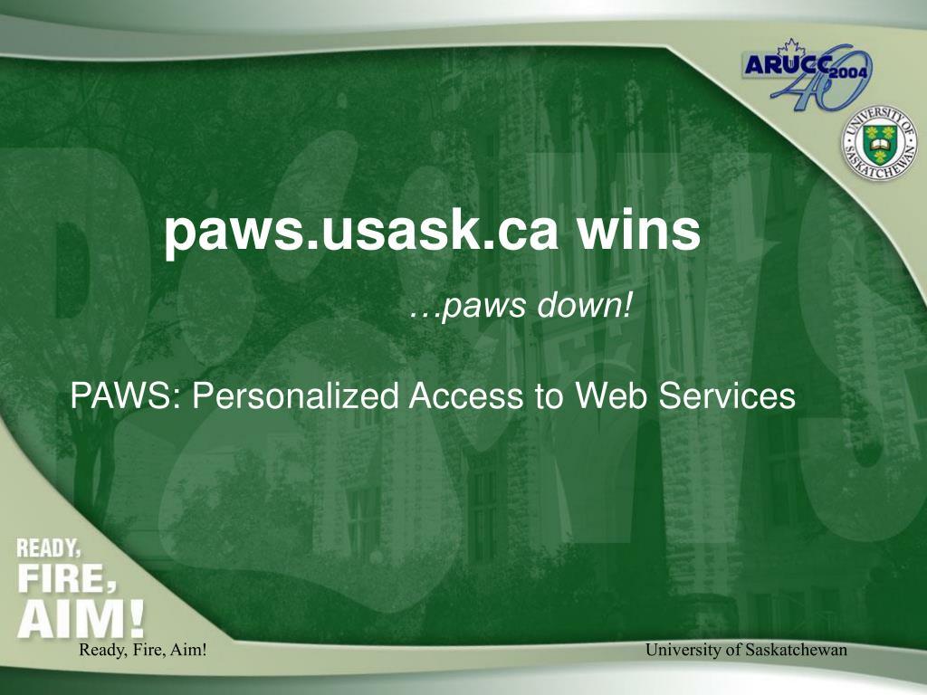 paws.usask.ca wins