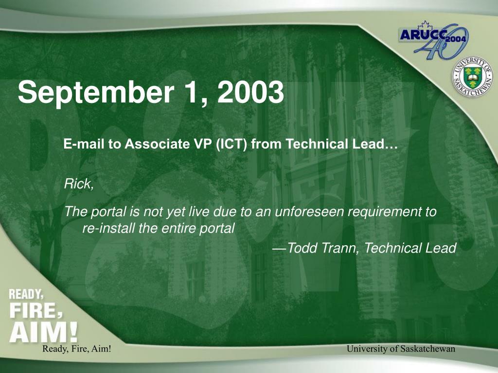 September 1, 2003