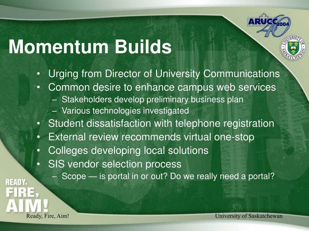 Momentum Builds